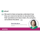 WBCSD's Maria Mendiluce and our call for bolder climate action in 2020