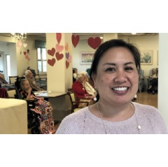 Diane Paloma is the CEO of Lunalilo Home in Honolulu, Hawaii. | UN News/Daniel Dickinson
