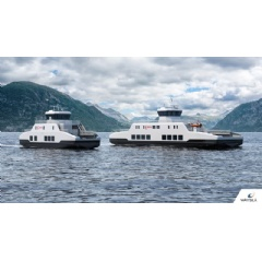 The two zero-emissions battery powered ferries have been custom designed for Boreal Sjö by Wärtsilä.