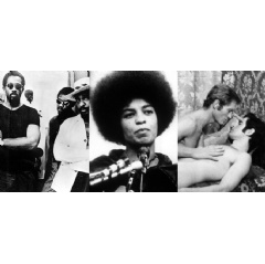 Eldridge Cleaver in Eldridge Cleaver, Black Panther | Angela Davis in Angela – Portrait of A Revolutionary | Beryt Bohlen, Bernd Feuerhelm in It Is Not the Homosexual Who Is Perverse, But the Society in Which He Lives