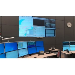 Full access to vital VTS information is provided by the Wärtsilä Navi-Harbour WebVTS 5.0 software application, thereby enhancing the operational safety of Wintershall Noordzee's offshore installations. Copyright: Wintershall Noordzee