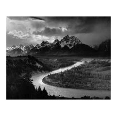 ANSEL ADAMS, The Tetons and the Snake River, Grand Teton National Park, Wyoming, 1942