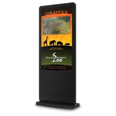 NoviSign digital kiosk