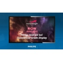 NoviSign Digital Signage Software Now Available on Philips Android SoC Commercial Grade Display AppStore