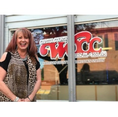 Sunny Stephens of WOCC Radio in Corydon, Indiana