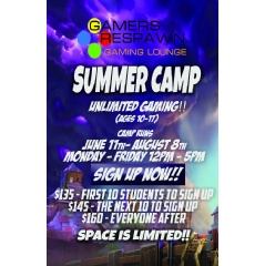 Gamers Respawn Summer Camp