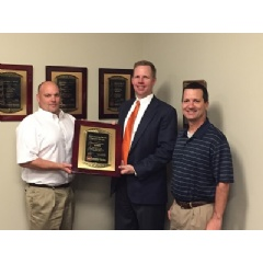 GreenWood Inc Receives BB&T Lighthouse Beam Safety Award