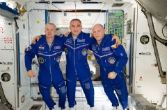 NASA astronaut Steve Swanson, Expedition 40 commander, along with cosmonauts Alexander Skvortsov and Oleg Artemyev, both flight engineers with the Russian Federal Space Agency, return to Earth Sept. 10 after 6 month aboard the International Space St.