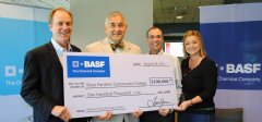 BASF donated $100,000 to the River Parishes Community College to support construction of an Advanced Technology Center on the school's new campus in Burnisde, Louisiana.