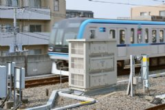 S-EIV® installed on end of platform at Myoden station