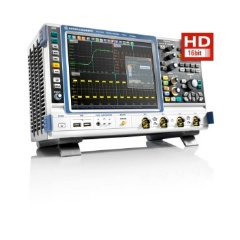 High definition oscilloscopes from Rohde & Schwarz offer signal analysis with 16-bit vertical resolution