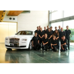 Rolls-Royce Motor Cars Apprentices And Graduates.