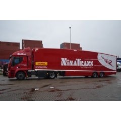 The new trailer is designed specifically for use in mainland Europe to meet European legislation requirements.