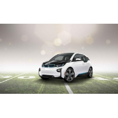 The all-electric BMW i3 is featured in a 60-second spot during Super Bowl XLIX on Sunday, February 1, 2015.