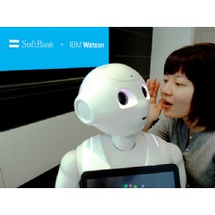 IBM Watson is going to Japan via IBM's new alliance with Japanese telecommunication giant SoftBank, on Tuesday, February 10, 2015. (see complete image caption below)