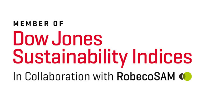 Gildan, again part of Dow Jones Sustainability Index