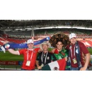 Fans relish Confederations Cup experience