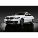 Increased performance, individual character and a true racing feeling. Exclusive M Performance Parts for the new BMW M5.