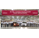 Nissan's Resende plant in Brazil celebrates exporting 20,000 cars