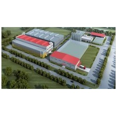 At the Bianjing Chemical Park in Changzhou LANXESS is building a new plant for high-performance plastics. Photo: LANXESS AG