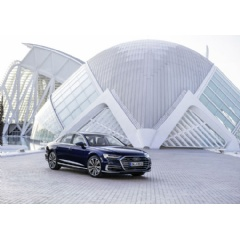 The Audi A8: the world's first production automobile for Level 3 conditional automated driving