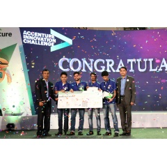 Grand Prize winners of the Accenture Innovation Challenge 2017:
