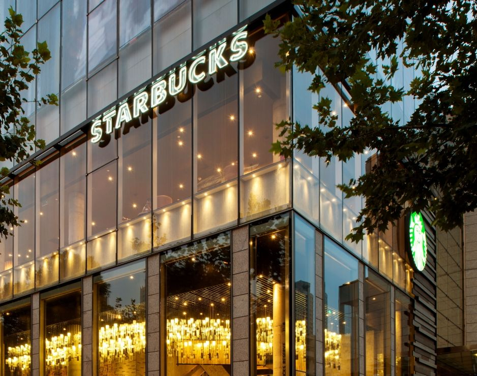 Starbucks reports 2% increase in same store sales