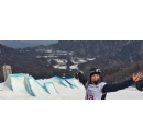 On the road with Olympic snowboarder