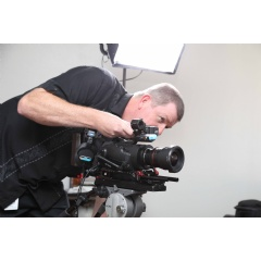 RiversideTV uses its two JVC GY-LS300 4KCAM cameras for ENG shoots and other projects.