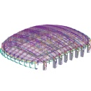The Olympic Gangneung Ice Arena: Beautiful sports structure built with Tekla BIM technology by Trimble