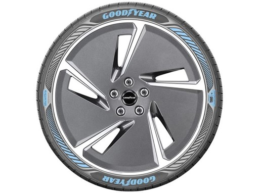 Goodyear Oxygene: a concept tyre to improve air quality