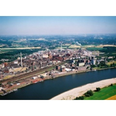 LANXESS has commissioned a new production line for the manufacture of specialty compounds at its Krefeld-Uerdingen site. Photo: LANXESS AG