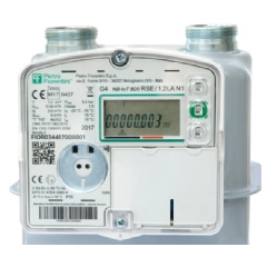 Pietro Fiorentini's NB-IoT version of the RSE Smart Gas Meter, jointly developed with Huawei and Terranova Software.