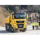 Offroad & Traction – successful pilot training for the tipper truck sector with MAN ProfiDrive