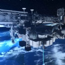 First high capacity space-to-ground laser communications system for the new European external ISS Platform Bartolomeo