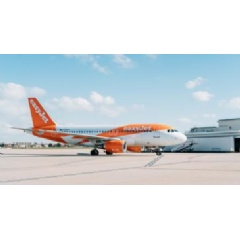 easyJet celebrates 10 years at Jersey