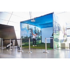TrackMan - Golf in BMW Welt