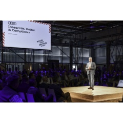 "Rupert Stadler, Chairman of the Board of Management of AUDI AG, said in his welcoming remarks: ""Audi will only be successful in the future if we consistently follow the path of change."