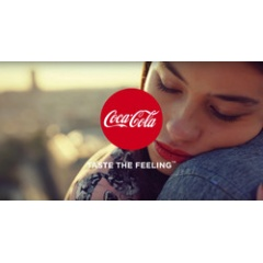 "The campaign ""Taste the Feeling"" by Coca-Cola is supported by sound design."