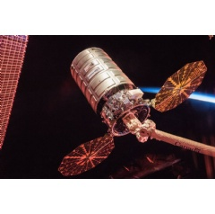 Cygnus cargo spacecraft is set to depart the International Space Station nearly two months after delivery of several tons of supplies and scientific experiments to the orbiting laboratory.
