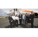 easyJet marks the delivery of its first Airbus A321neo at Farnborough International Airshow