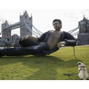 'Jurassic' Jeff Goldblum installation appears on London's Southbank