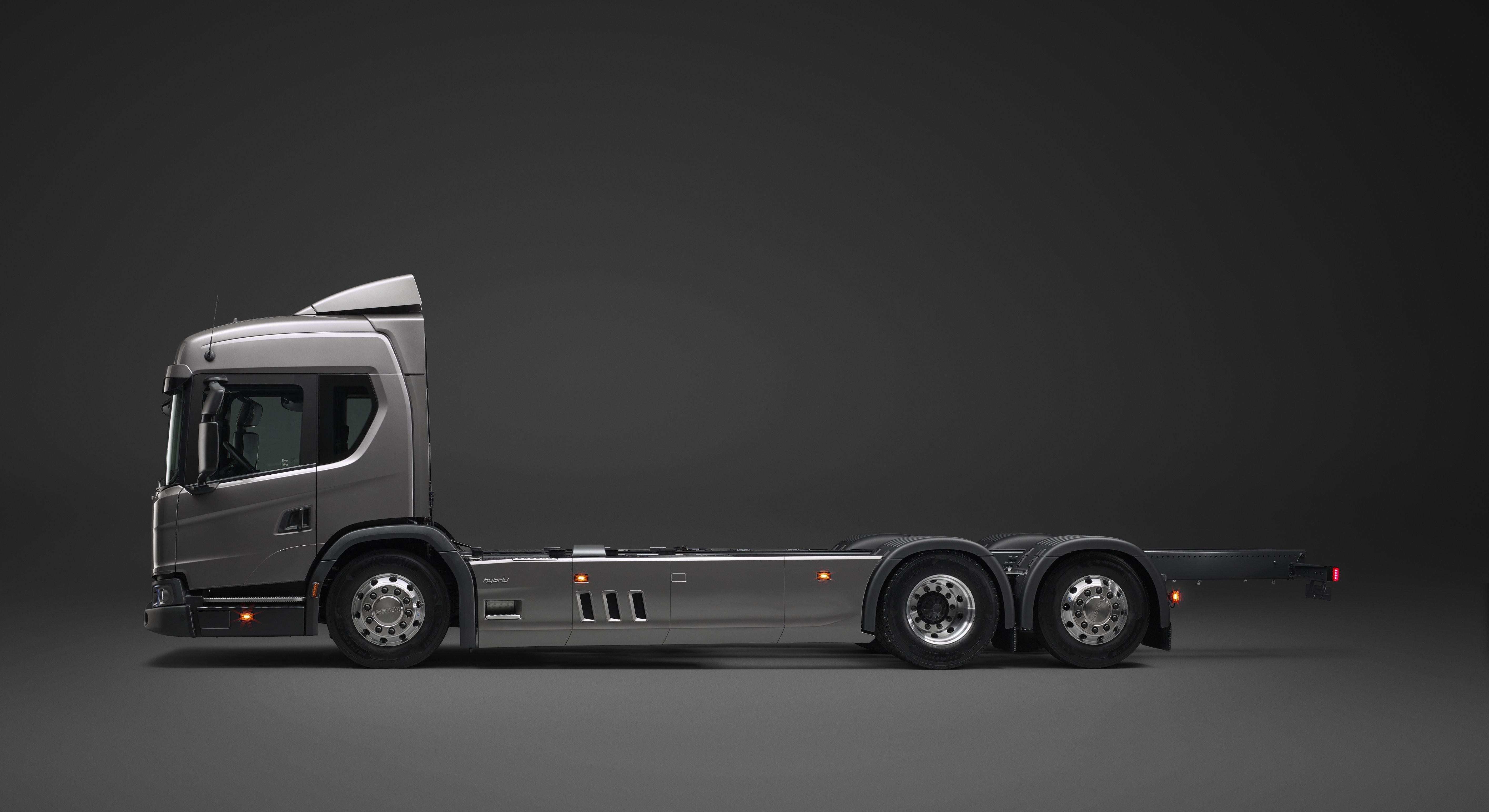 Versatile Hybrid Trucks For Urban Lications