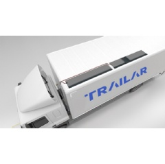 TRAILAR uses advanced solar technology by applying thin film, flexible solar matting to the roofs of rigid vehicles, which are connected to the vehicle battery or additional on-board batteries.