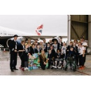 British Airways Staff, a Host of Volunteers and Some Out-Of-This-World Guests Joined by Singer Una Healy to See off Dreamflight 2018