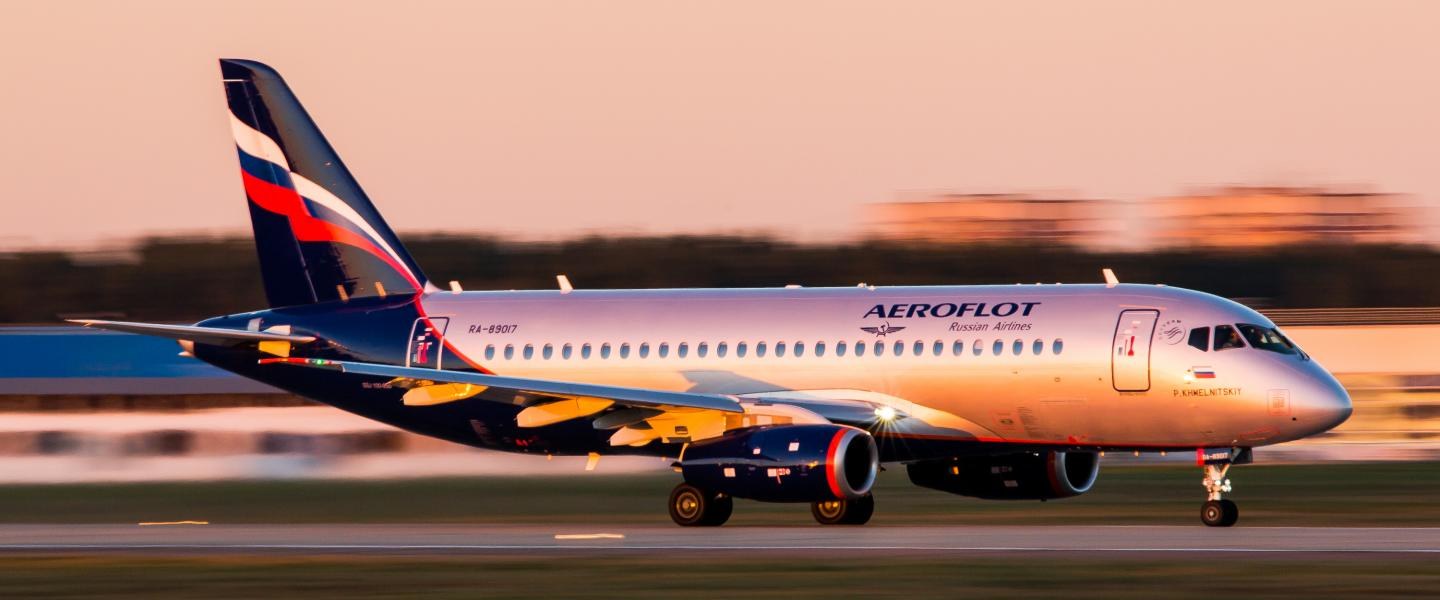 Planes of Helsinki Airport: five facts about the Sukhoi