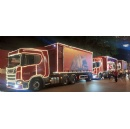 Santa's coming to town in Scania trucks