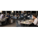 A revamped Air France lounge at New York-JFK
