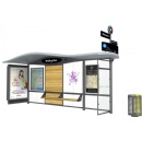 JCDecaux has won the contract for the Grenoble urban area SMTC's new generation bus shelters