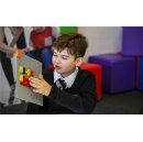 The LEGO Foundation and LEGO Group team up with blind associations to pilot LEGO® Braille Bricks and develop children's breadth of skills